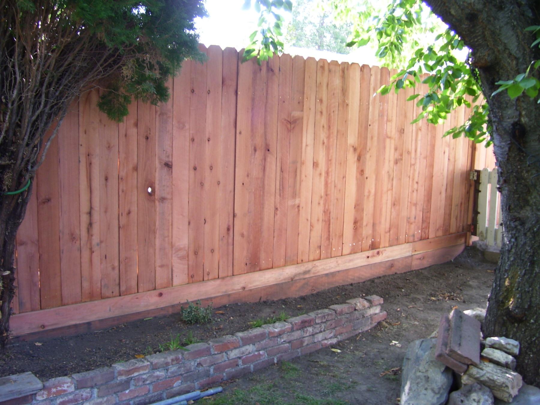 Wood tahoe fence baanklon Gallery