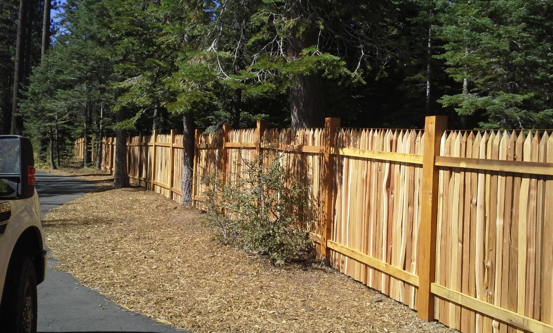 wood – tahoe fence