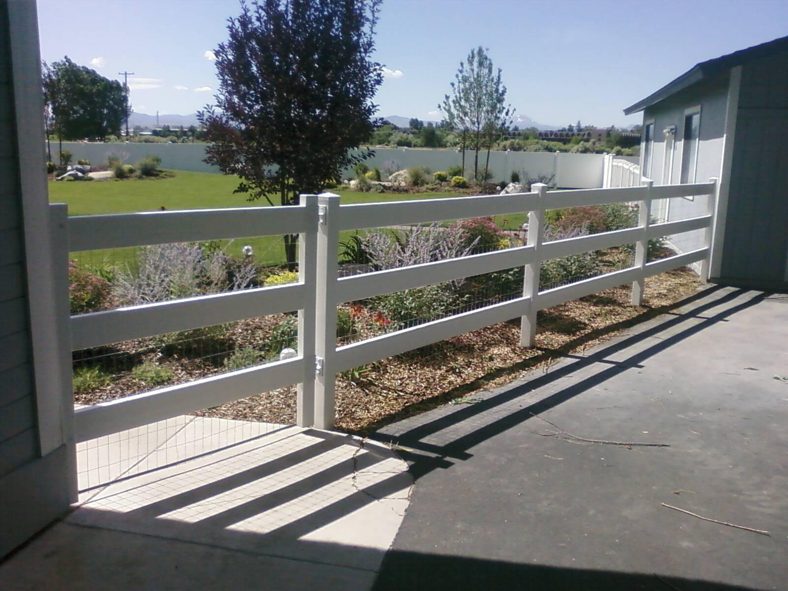 PVC & Vinyl – Tahoe Fence