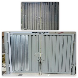 Steel Trash Gate Repair (Before & After)