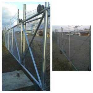 Wire Cantilever (After) & Double Slide Gate (B-4)